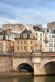 Pont Neuf. The oldest bridge across the Seine river Stock Image