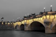 Pont Neuf, París Imagen de archivo libre de regalías