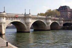 Pont Neuf, Parijs, Frankrijk Stock Afbeeldingen