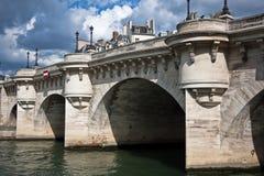 Pont Neuf, Parijs, Frankrijk Royalty-vrije Stock Afbeelding