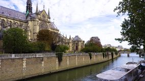 Pont Neuf, Parijs, Frankrijk stock footage
