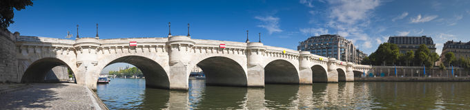 Pont Neuf, Paris Lizenzfreie Stockfotografie