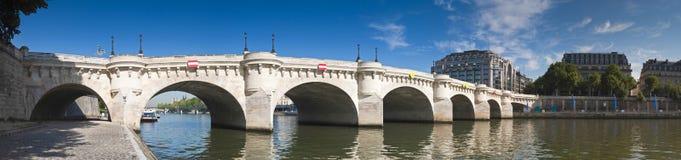 Pont Neuf, Paris Royaltyfri Fotografi