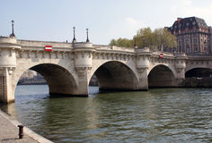 Pont Neuf, Paris, France Stock Images