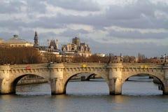 Pont Neuf in Paris Stock Photos
