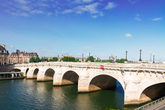 Pont Neuf, Paris, France Royalty Free Stock Photos