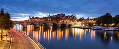 Pont Neuf, Paris, Frankrike Royaltyfri Fotografi