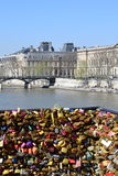 Pont neuf of paris Royalty Free Stock Images