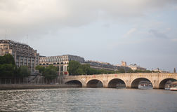 Pont Neuf and the river Seine, Paris Stock Photo