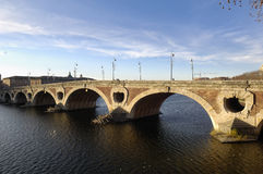 Pont Neuf in Toulouse,. France Royalty Free Stock Images