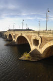 Pont Neuf in Toulouse, France. The arch of Pont Neuf in Toulouse, France Stock Photo