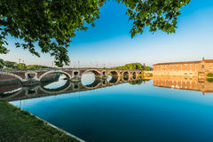 Pont Neuf in Toulouse, France. Royalty Free Stock Photo
