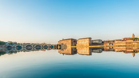 Pont Neuf in Toulouse, France. Royalty Free Stock Photography