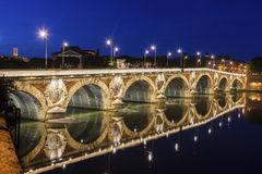 Pont Neuf in Toulouse. Toulouse, Occitanie, France Stock Images
