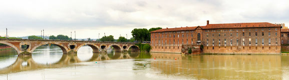 Pont Neuf Toulouse Royalty Free Stock Photo