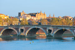 The Pont Neuf in Toulouse Royalty Free Stock Image