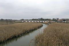 pont Neuf-troué en Hongrie image stock