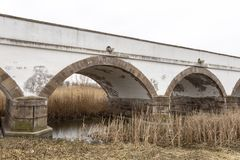 pont Neuf-troué en Hongrie photographie stock libre de droits