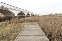pont Neuf-troué en Hongrie photographie stock