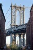 Pont New York City de Manhattan Photographie stock