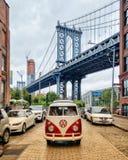 Pont New York de Manhattan images libres de droits
