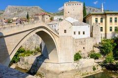 Pont nouveau vieux de Mostar Image stock