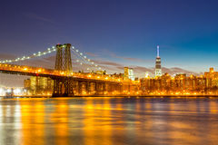 Pont NYC de Williamsburg Photo stock