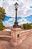 pont paris neuf Франции Стоковые Изображения RF