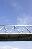 Pont piétonnier Images stock
