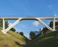 Pont piétonnier Photographie stock