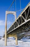 Pont Pierre Laporte Lizenzfreie Stockbilder