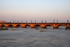 Pont Pierre przy bordami Fotografia Royalty Free