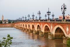 Pont Pierre przy bordami Fotografia Stock