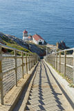 Pont Reyes Lighthouse in CA Royalty Free Stock Photography