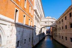 Pont romantique à Venise, Italie photo stock