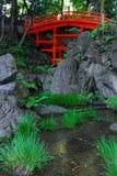 Pont rouge Photo libre de droits