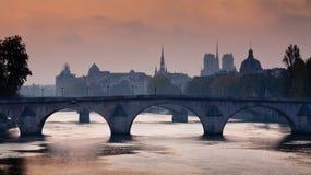 Pont Royal of Paris Royalty Free Stock Photo