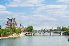 Pont Royal, Paris Royalty Free Stock Photos