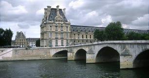Pont royale, Parijs Royalty-vrije Stock Afbeelding