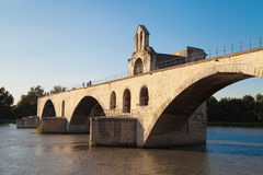 Pont Saint Benezet Stock Photography