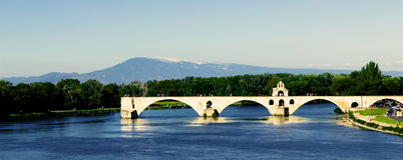Pont Saint Benezet Stock Image