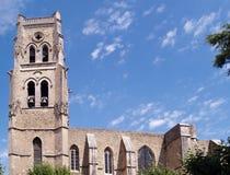Pont Saint  Esprit, Gard, France. Saint-Saturnin church in Pont Saint Esprit (Pont St Esprit ), Gard, France Stock Photos