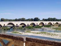 Pont Saint  Esprit, Gard, France Stock Images
