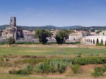 Pont Saint  Esprit, Gard, France Stock Photos