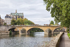 Pont Saint-Georges in Metz Royalty Free Stock Photography