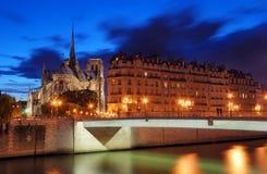 Pont Saint-Louis. Zdjęcie Stock