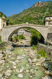 Pont-Saint-Martin, Aosta Valley Royalty Free Stock Image