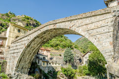 Pont-Saint-Martin, Aosta Valley Stock Photos
