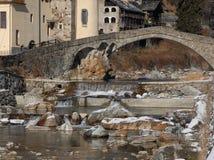 Pont Saint Martin Stock Photography