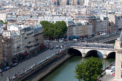 Pont Saint-Michel Royalty Free Stock Photo